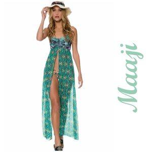 Maaji Swimsuit Cover Maxi Dress Chimera Goddess